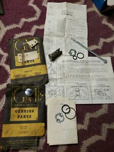 50 51 52 53 54 55 Gm Pontiac Chevy Olds Front Door Push Button Lock Cylinder Kit