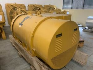 Kato Engineering 902kw 6p6 2400 600v 1200rpm 60hz Generator End New Surplus