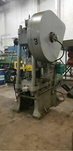 Bliss Hs60 C frame Stamping Press 60 Ton High Speed 2stroke Air Clutch Peterson