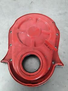1965 1966 Chevrolet Corvette Timing Chain Cover 427 For 7 Balancer Oil Pan Nut
