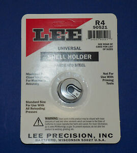 LEE Universal Shell Holder #R4-(90521)-new in package  $9.49