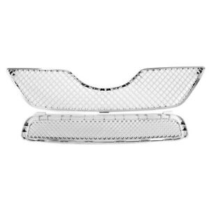 For 2007 2008 2009 Toyota Camry Chrome Honeycomb Mesh Upper bumper Grille Grill