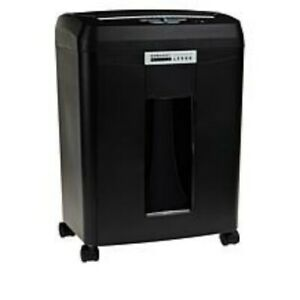 Embassy 9 sheet Microcut Paper Shredder With Auto Feed Black