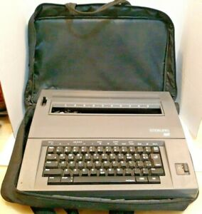 Smith Corona Sterling Scm Electric Typewriter Model 5b 1 Correctable Handle
