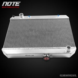 For 1965 1966 1967 Pontiac Gto tempest lemans Aluminum Performance Radiator