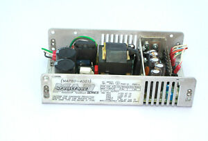 Power one Map80 4001 Open Frame Power Supply Used