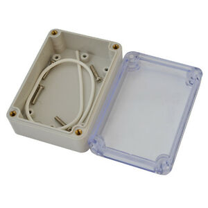 Waterproof Clear Electronic Project Box Enclosure Abs Plastic Cover Cases