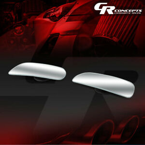 Pair Of Adjustable Rectangular Stick on Wide Angle Rear View Blind Spot Mirror