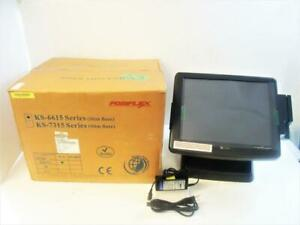 New Pos Ks 6615z Touchscreen Point Of Sale Restaurant Bar By Posiflex W Power
