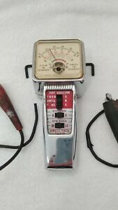 Kal Equip Co Dwell Tach Tester Vintage Automotive Tool Model T 111 Untested