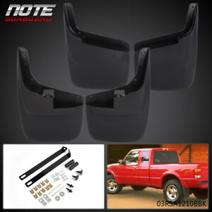 4x Mud Flaps Guard Splash Molded W O Lip Fender Flares For 99 10 Ford F250 F350