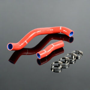 For 00 05 Toyota Lexus Is300 Altezza Jce10 2jzge Red Silicone Radiator Hose Kit