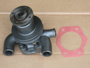 Water Pump W Pulley For Massey Ferguson Mf 240p 245 250 2500 Forklift 253 263