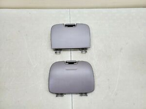 1999 2003 Ford F150 Overhead Storage Console Doors Grey 99 03 F 150 Set 2 Oem