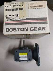 Boston Gear altra F713 30 b5 j Right Angle Worm Gear Speed Reducer New