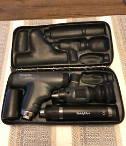 Welch Allyn Panoptic Ophthalmoscope Macroview Otoscope Diagnostic Set 97800 ms