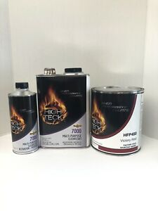 1 Gal Victory Red Basecoat And Gal Clear Kit W Slowactivator Gm Code Wa9260