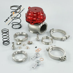 Mvr44 Tial 44mm Wastegate Exhaust Dump Tube Pipe Elbow Inlet Adaptor Ss304 Red