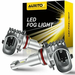 Auxito H10 9140 9145 6500k Led Fog Driving Light Bulbs Smd Bright Fit For Ford F