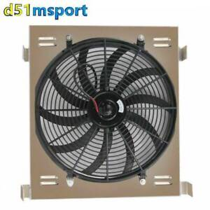 Aluminum Shroud Fan For 1933 1934 Ford Grill Shells Chevy V8 Engine