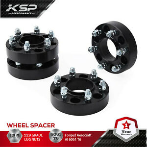 4 Pcs Wheel Spacers 6x135 1 5 Thick 14x1 5 For Ford F 150 2015 2020 Expedition