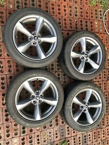ford Mustang Gt Set Of 18 Inch Wheels And Tires 235 50 18 Oem Take Offs