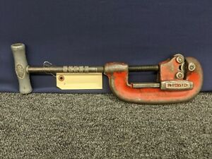 Ridgid Pipe Cutter No 2 Heavy Duty 1 8 To 2 Vintage Tool Usa Cut Plumbing Used