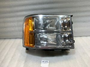 2009 2010 2011 2012 2013 Chevrolet Silverado1500 Headlight Oem Right Passenger
