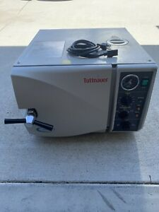 Autoclave Sterilizer Tuttnauer 2340m Steam Dental Medical Veterinary Tattoo B00