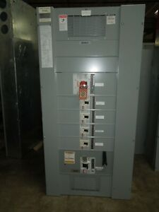 Eaton Pow r line C Prl4 1200a 3ph 3w 480v Main Breaker Panel W Distribution
