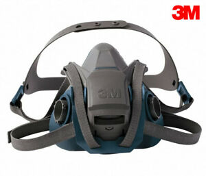 3m 6502 Half Face Respirator Medium Reusable Rugged Us Stock Dd5r3f