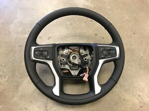 Factory Oem 2020 Silverado Sierra Steering Wheel Automatic Leather Brand New