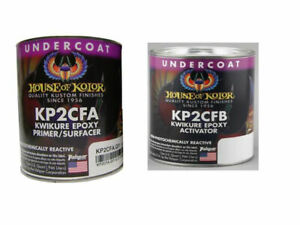 House Of Kolor Kwikure Epoxy Primer Kp2cfa Kp2cfb Kit 1 Quart Each