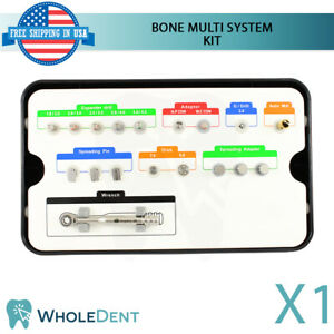 Bone Multi System Kit Spreading Drill Chisel Narrow Dental Implant Surgical Tool