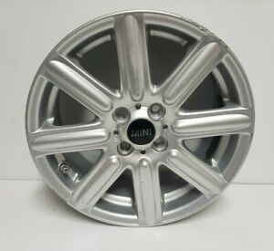 2007 2015 Mini Cooper 16x6 5 Alloy Wheel Rim Silver R55 r59 Oem 6791941