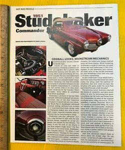 1951 Studebaker Commander Bullet Nose Coupe Oddball Looks Ok Original Article