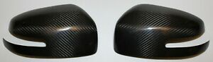 Mitsubishi Lancer Evo X Final Edition Side Mirror Covers Carbon Fiber Gloss