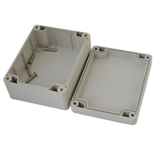 115 90 55mm Waterproof Cover White Plastic Electronic Project Box Enclosure Case