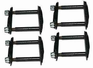 Front And Rear Leaf Spring Shackle Set Of 4 Suzuki Samurai Sj410 Sj413
