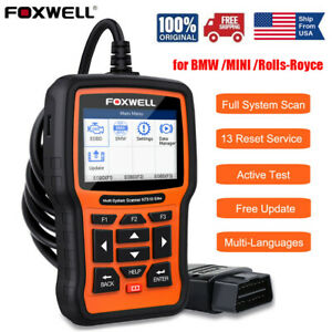 For Bmw Mini Abs Srs Dpf Full Systems Diagnostic Scanner Code Reader Reset Tool