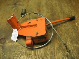 Kubota B5200d Gear Box Lever Holder Stay Bracket Guide main Clutch Cable