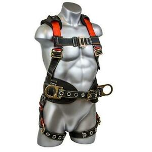 Guardian Fall Protection 11173 M l Seraph Construction Harness With Side D rings