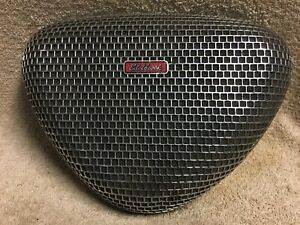 Used Edelbrock Pro Flow 1000 Chrome Pro Flo Triangle Mesh Air Cleaner