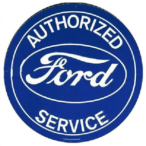 Large Vintage Style 24 Ford Service Signs Man Cave Garage Decor