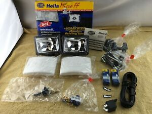Hella Micro Ff Headlights 12v Secure Fit With New Expanding Plug System Nob