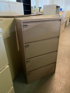 4dr 30 w X 18 d X 52 1 4 h Lateral File Cabinet By Steelcase Office Furniture