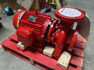 Armstrong 4x3x6 4280 Motor Mounted Centrifugal Pump 10 Hp 3600rpm