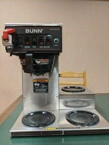 Bunn Cwtf 15 3l Low Profile Brewer 120v For Glass Carafe Coffee Pot 90304