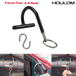 Paintless Dent Repair Push Rod Hanger S Hook Tools T Lever Holder Tools Kit New