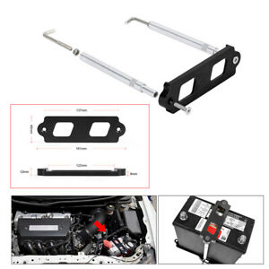 Battery Tie Down W Hold Down Rods Tray Hooks Kit For Honda Civic Crx Acura Rsx